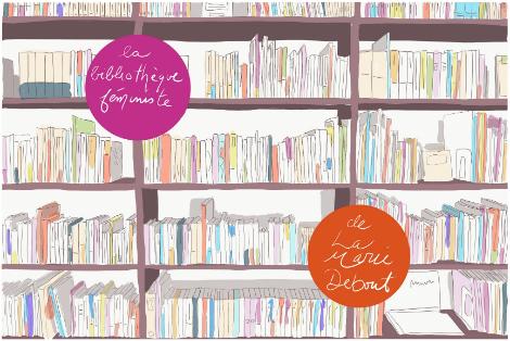 Consultez le catalogue en ligne de notre bibliothèque féministe